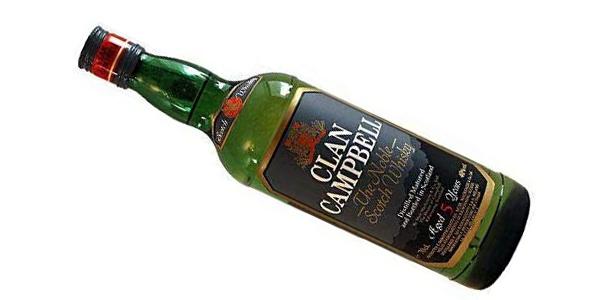 Whisky de mezcla Clan Campbell de 1000 ml chollo en Amazon