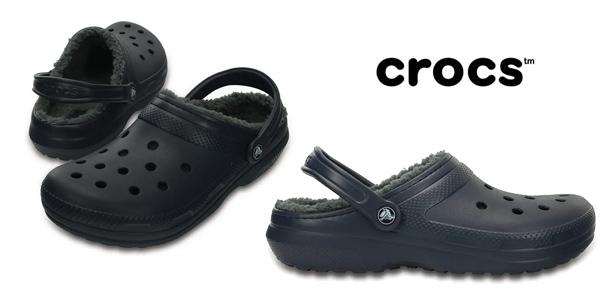 Zuecos de invierno unisex Crocs Classic Lined Clog para adulto baratos en Amazon