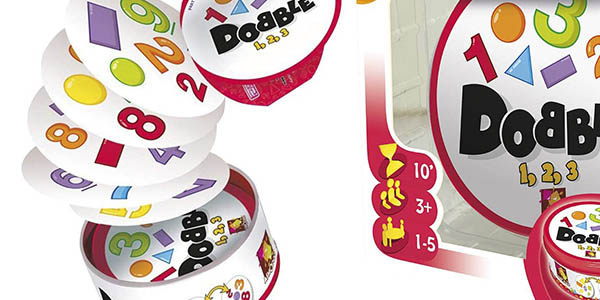 Zygomatic Dobble formas números juego oferta
